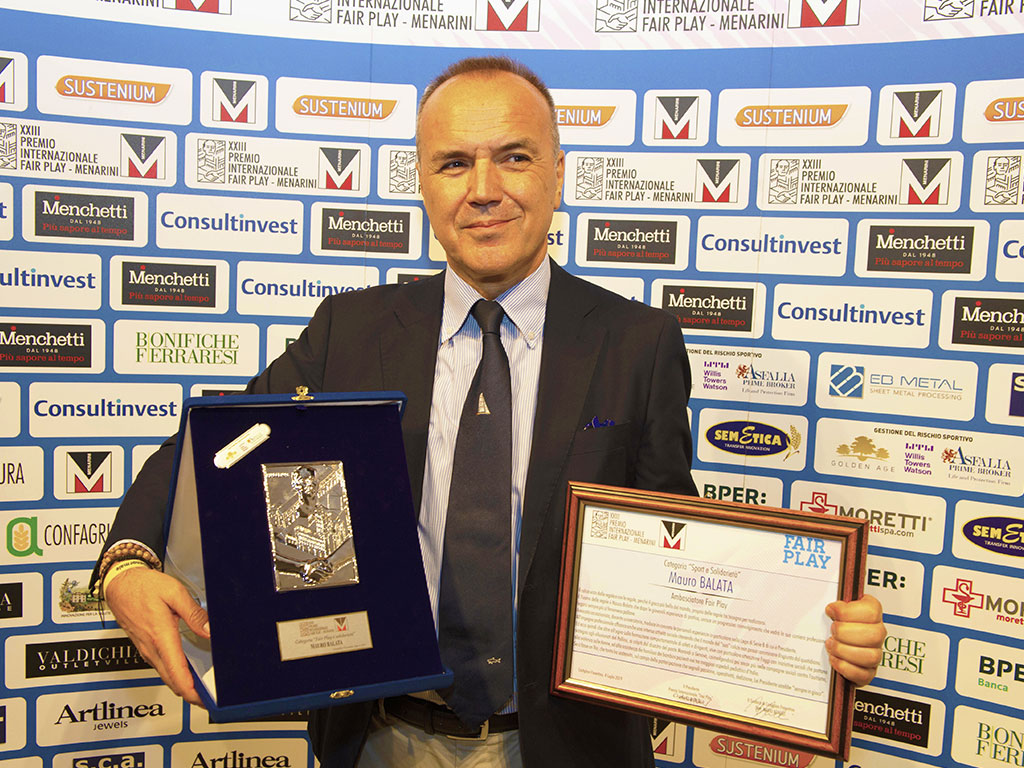 Premio Fair Play Menarini - Balata