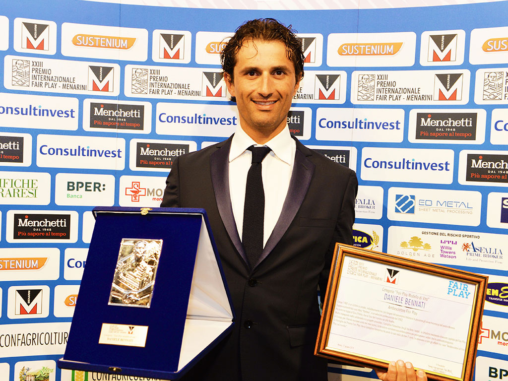 Premio Fair Play Menarini - Bennati