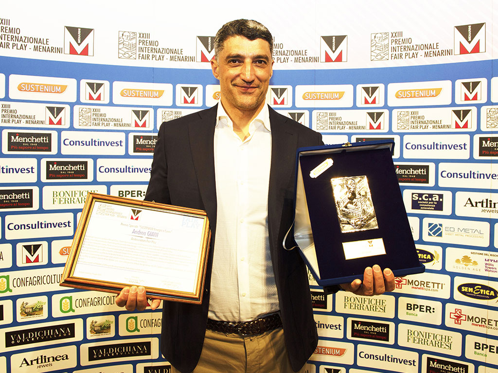 Premio Fair Play Menarini - Giani