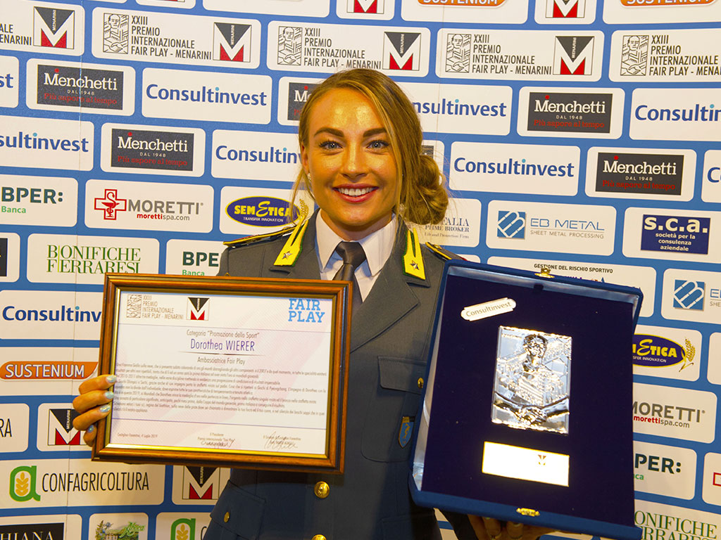 Premio Fair Play Menarini - Wierer